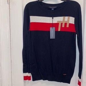 Women's Tommy Hilfiger Navy Blue sweater- Size M